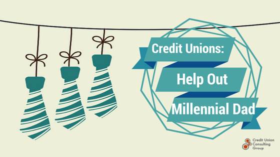 credit unions help millennial dads
