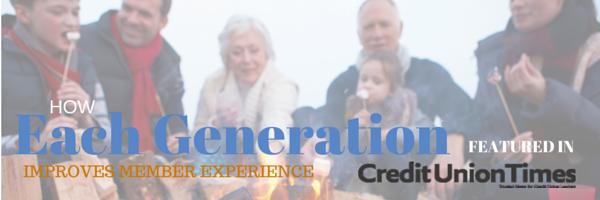GENERATIONS + MEMBER EXPERIENCE